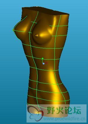 女人的身体(PROE原创教程)